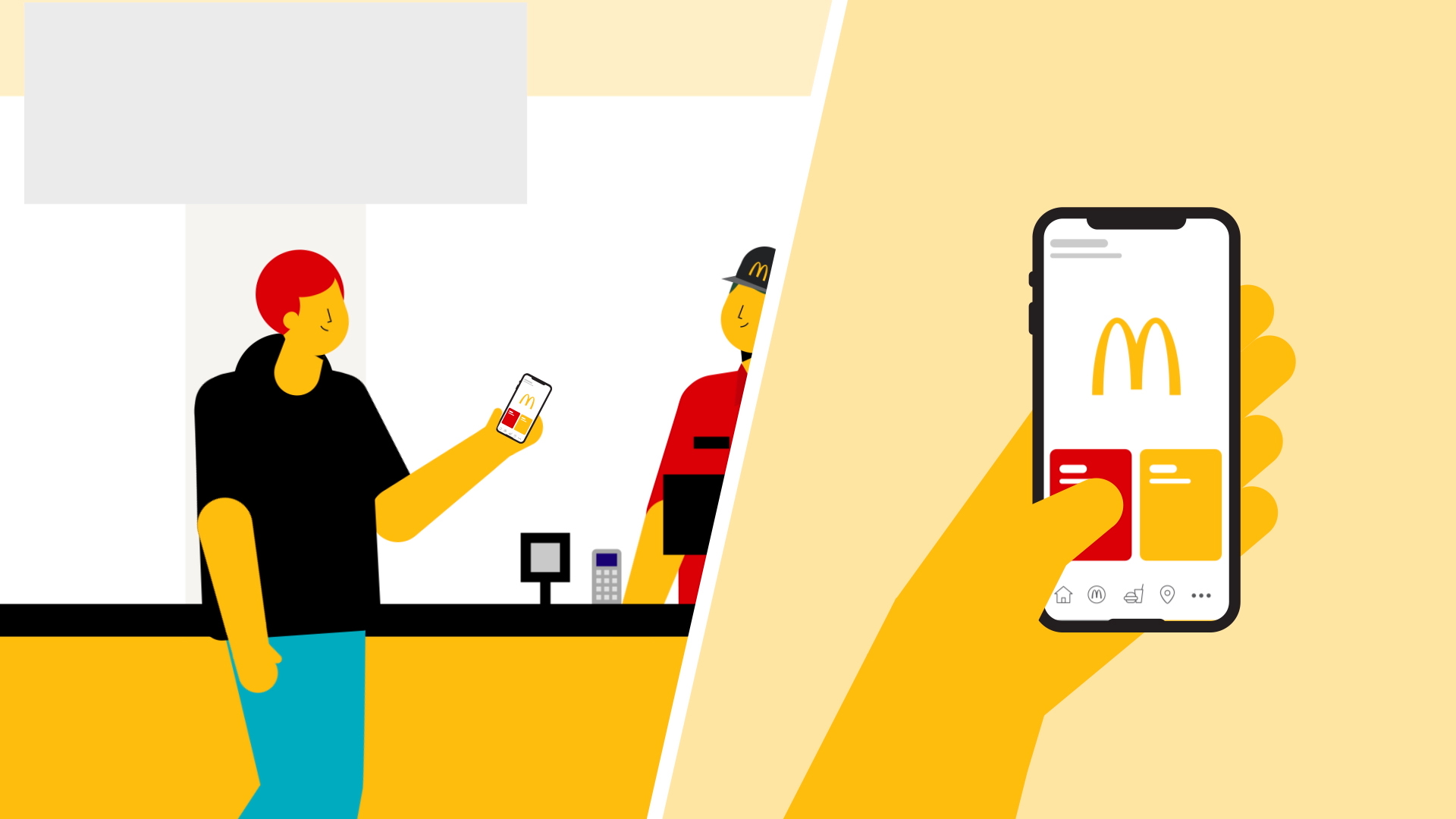 illustration from McDonald's by Dani Montesinos